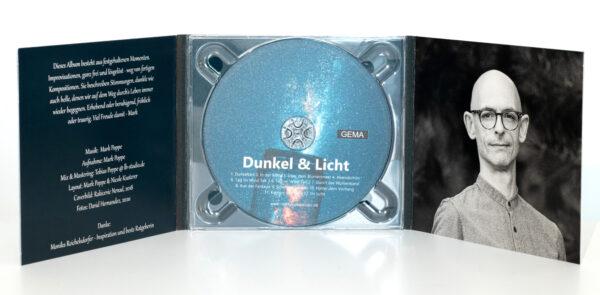 Mark Poppe - Album 'Dunkel und Licht' - Inlay