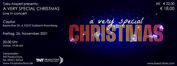 A very special Christmas - Ticket - Sulzbach-Rosenberg